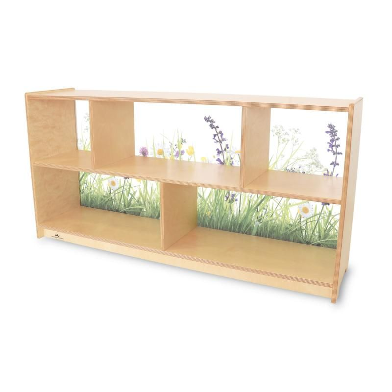 Nature View Acrylic Back Cabinet 24h