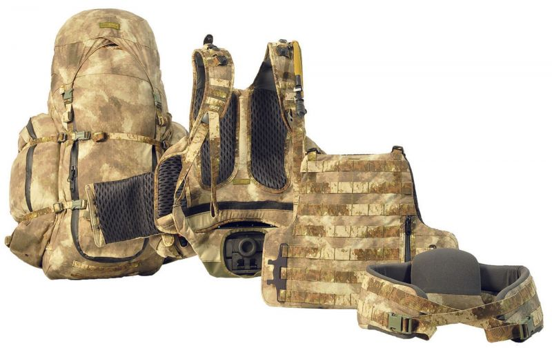Fusion System Marom Dolphin Unified Molle Modular Carrying System With Detachable Backpack, Color: Tan