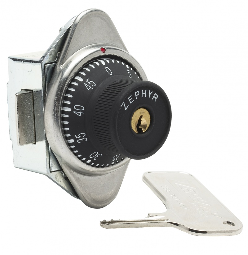 Built-In Combination Lock Built In Combination Lock, With Spring Latch For Doors With Hinge On Left