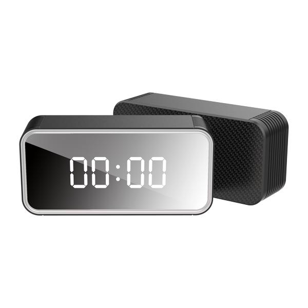 Aero - 4k Ultrahd Wifi Streaming Nanny Cam Alarm Clock With Ir Night Vision